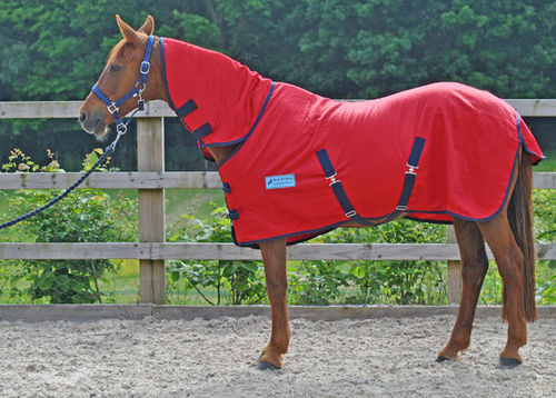 RED COMBO SUMMER SHEET - STANDARD SIZES
