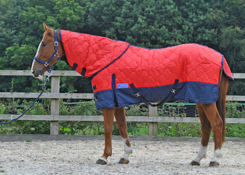 MEDIUMWEIGHT DETACHABLE NECK STABLE RUG - MINI / SHETLAND SIZES