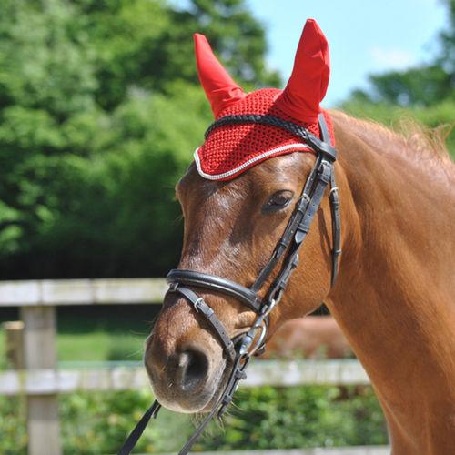Fly Veils Ear Bonnets Maxima Equestrian Quality